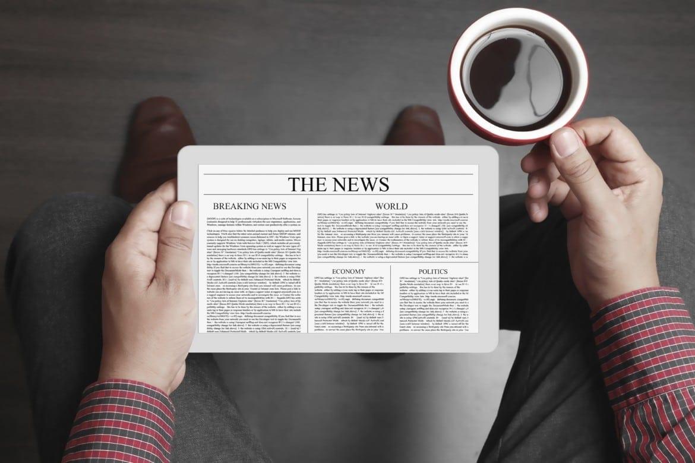 newspaper-tablet